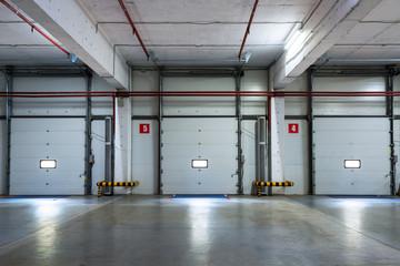 A modern storage room