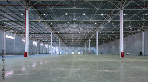 A big factory warehouse - 68929203