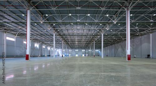 A big factory warehouse - 68929203