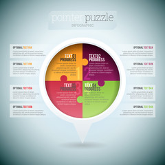 Pointer Puzzle Infographic