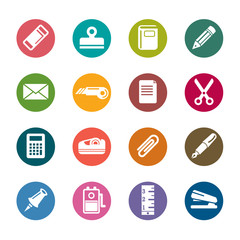 Stationary Color Icons