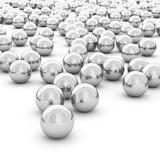 Fototapeta 3d rendering abstract sphere