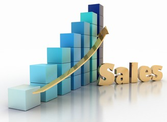 Sales growth chart