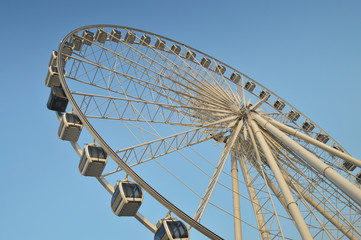Big Ferris wheel at Asiatique