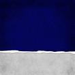 Square Dark Blue Grunge Torn Textured Background