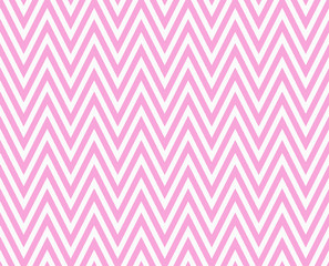 Pink and White Zigzag Textured Fabric Repeat Pattern Background