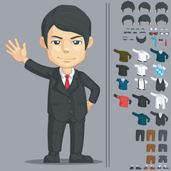 Businessman Customizable Character