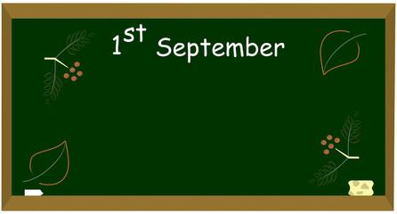 1st september