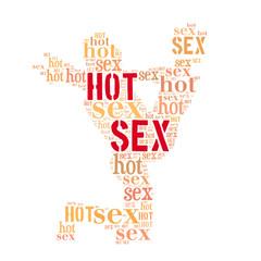 Hot sex word cloud