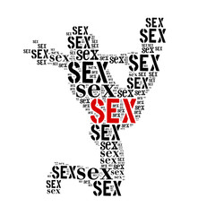 Sex word cloud