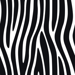 Zebra Stripes Seamless Pattern 4
