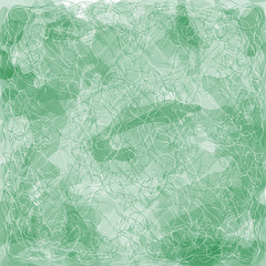 Green  texture  background abstraction. Vector Design