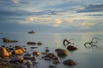 Morze Bałtyckie o poranku