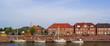 canvas print picture - Alter Hafen von HOCKSIEL ( Ostfriesland )