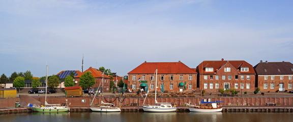 Alter Hafen von HOCKSIEL ( Ostfriesland )