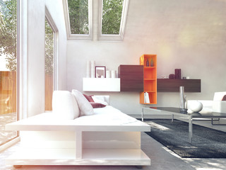 Cosy Modern Design Living Room