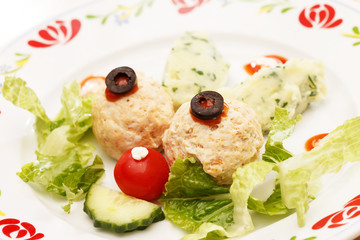 meatballs for kids menu