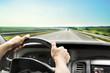 Leinwanddruck Bild - Driving