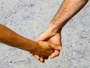 main dans la main,se tenir la main en amoureux