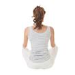 asian woman sitting