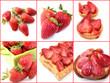 collage fraises