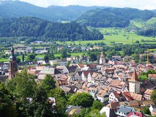 Gengenbach von oben