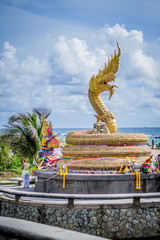 Golden dragon statue, Phuket