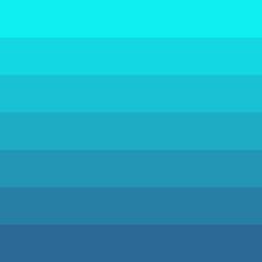 Farbstreifen: hellblau, türkis, dunkelblau