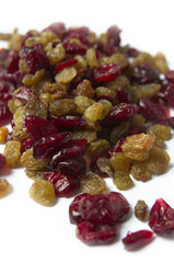 Dried Raisins And Cranberries
