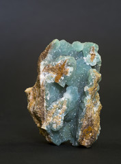 Smithsonite from Magdalena, Mexico. 7.6cm high.