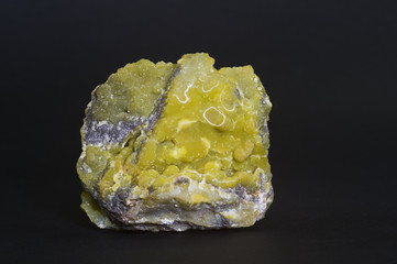 Smithsonite from Cagliari, Sardinia, Italy. 8cm across