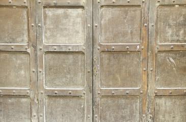 Old door at home