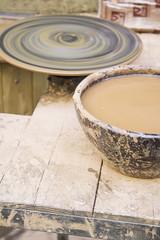Mud pottery