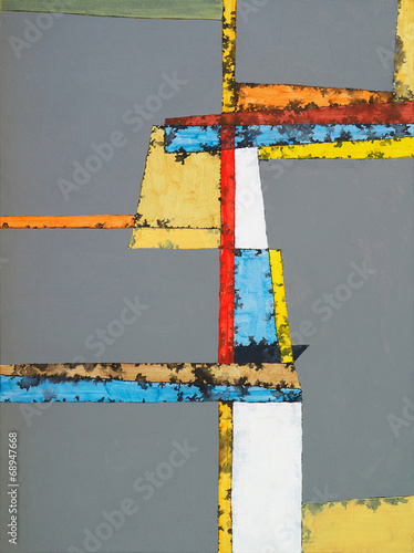 an abstract painting - 68947668