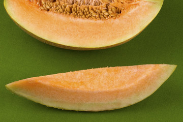 Slices of melon