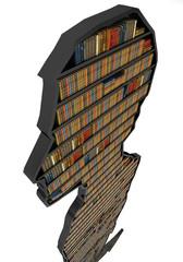 Biblioteca Libreria. Siamo quel che leggiamo.