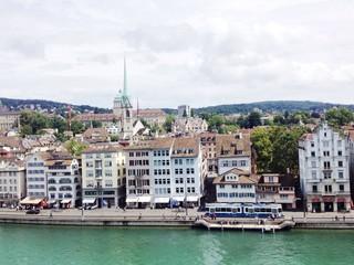 Zürich Innenstadt an der Limmat