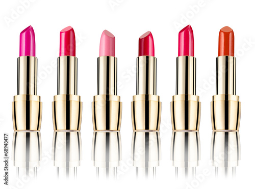 canvas print picture lipstick beauty make up