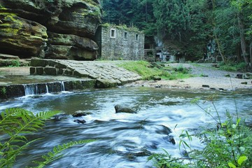 ruins of the old mill