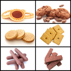 collage biscuits