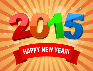 happy new year 2015 background