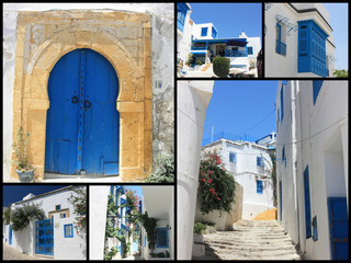 collage sidi bou saïd