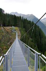 Hängebrücke bei Ischgl - Alpen