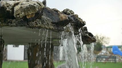 fountain splash waterfall