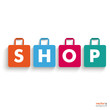 Colored Paper Shopping Bag Shop