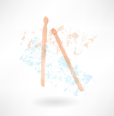drumsticks grunge icon