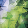 Modern abstract background low poly style