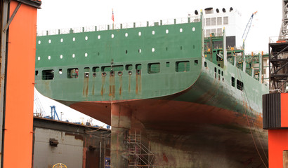 Schiffswerft Trockendock