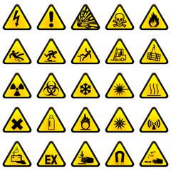 25 Warnzeichen - Set