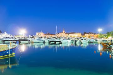 The evening port